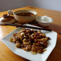 Poulet Gong Bao- Recette chinoise